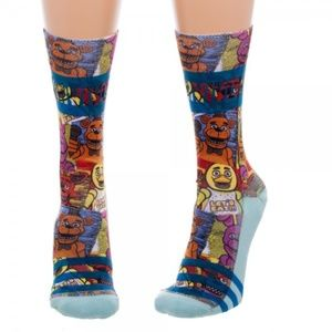 Five Nights at Freddy's Sublimated Juniors Socks